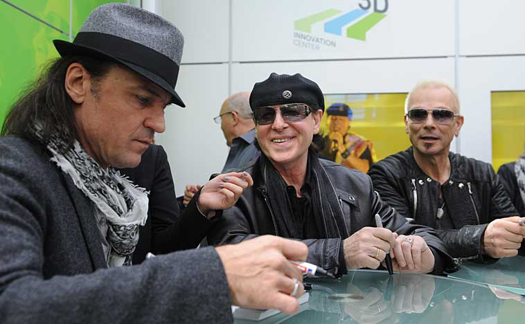 The Scorpions at CeBIT