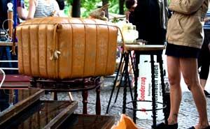 The flea market at Boxhagener Platz. Photo: Berlinow