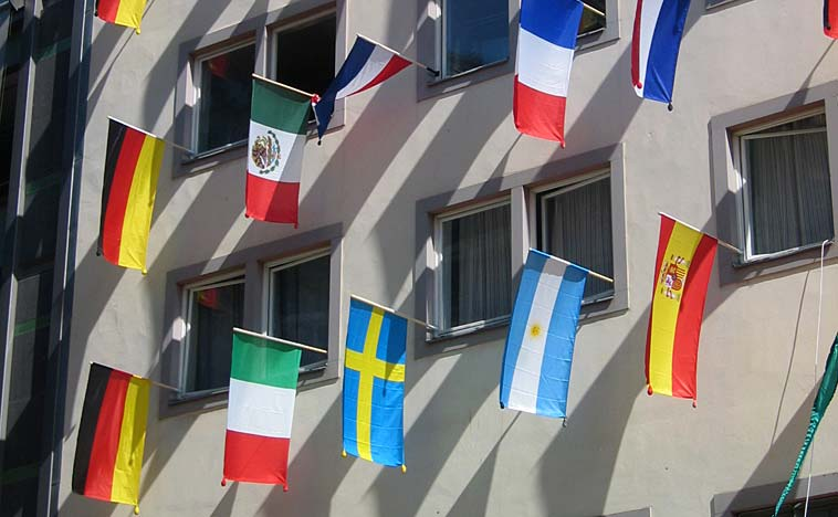 Don't have a flag? A passport will do (file). Photo: jpvargas/flickr (CC BY-SA 2.0)