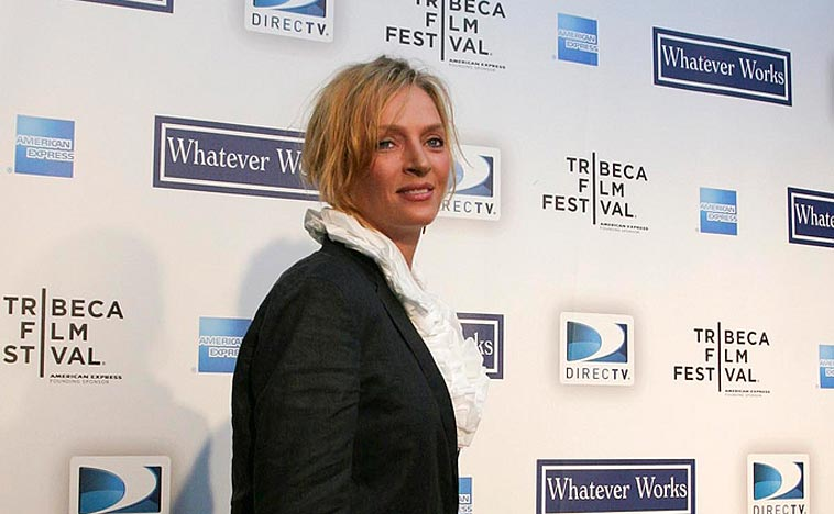 "Uma Thurman at the premiere of ""Whatever works"" in New York (2009). Photo: Rubenstein/flickr (CC BY 2.0)"
