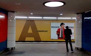 Adenauerplatz metro station. Photo: Berlinow