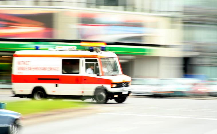 Ambulance in Berlin (file). Photo: Till Krech/flickr (CC BY 2.0)