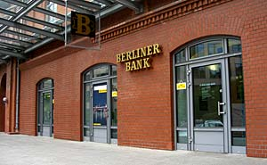 Berliner Bank (file). Photo: Thomas Quine/flickr
