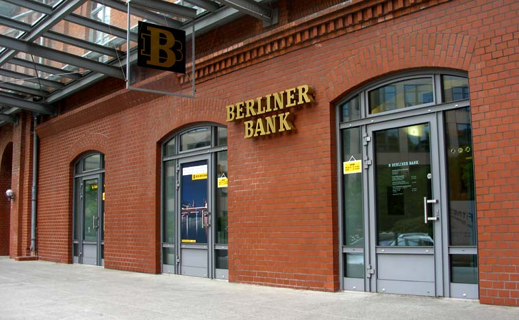 Berliner Bank (arkiv). Foto: Thomas Quine/flickr (CC BY 2.0)