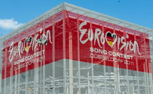 The Esprit Arena in Düsseldorf, where the 2011 Eurovision Song Contest were held. Photo: Frédéric de Villamil/flickr