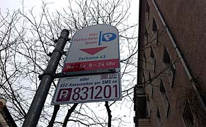 Parking zone in Prenzlauer Berg, Berlin (File). Photo: Berlinow