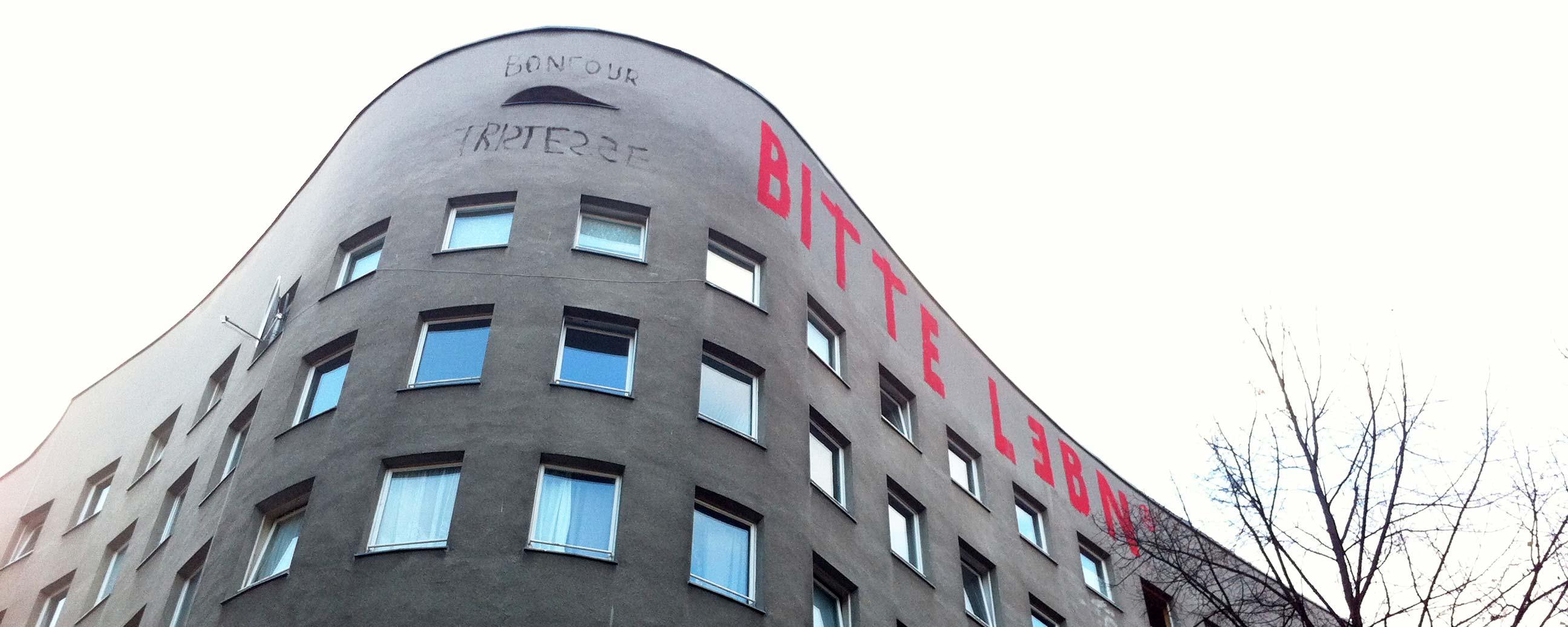 Apartment building in Kreuzberg, Berlin. Photo: Berlinow