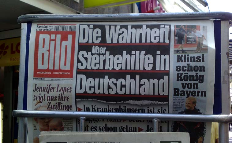 Bild at a news stand (file). Photo: Fox Wu/flickr (CC BY 2.0)