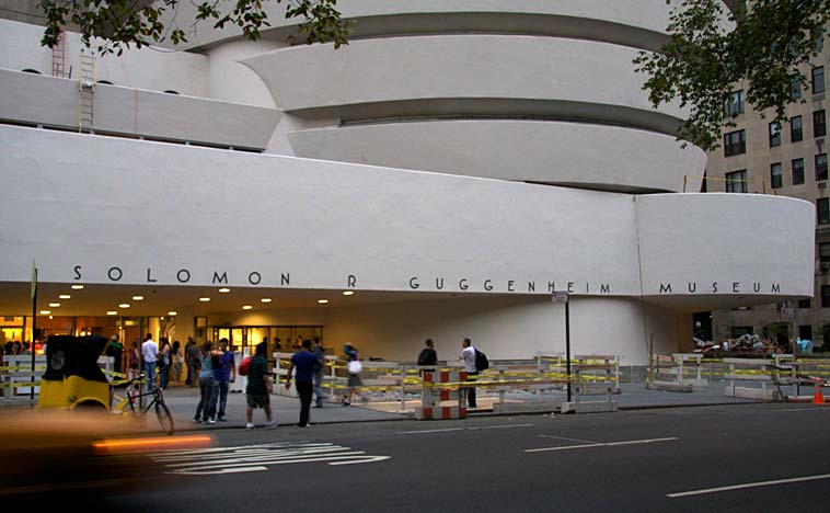 The Solomon R. Guggenheim museum on Upper East Side in New York City. Photo: Esbjörn Guwallius/Berlinow