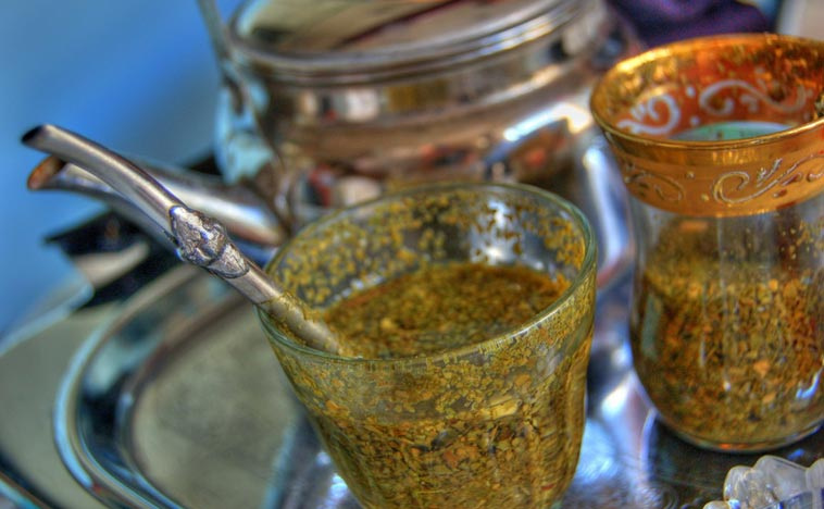 Mate as it's normally served – as tea (file). Photo: Taras Kalapun/flickr (CC BY 2.0)