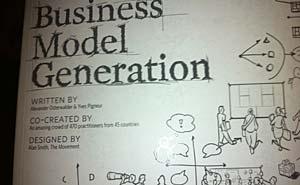 Business Model Generation. Photo: Berlinow