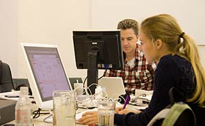 Co-working in Studio 70 in Neukölln. Photo: Berlinow