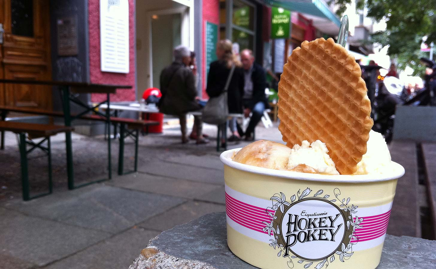 Hokey Pokey in Prenzlauer Berg. Photo: Berlinow