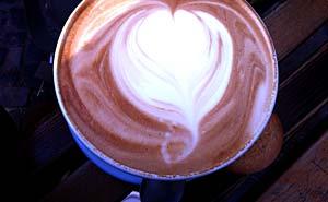 A milchkaffee from Double Eye in Berlin. Photo: Berlinow