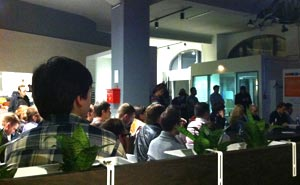 Another event at Mobile Suite Co-working in Berlin. Photo: Berlinow
