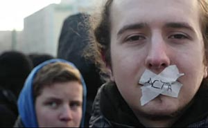 Protest Acta Rally in Berlin. Image from video