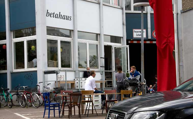 Betahaus in Kreuzberg. Photo: Berlinow