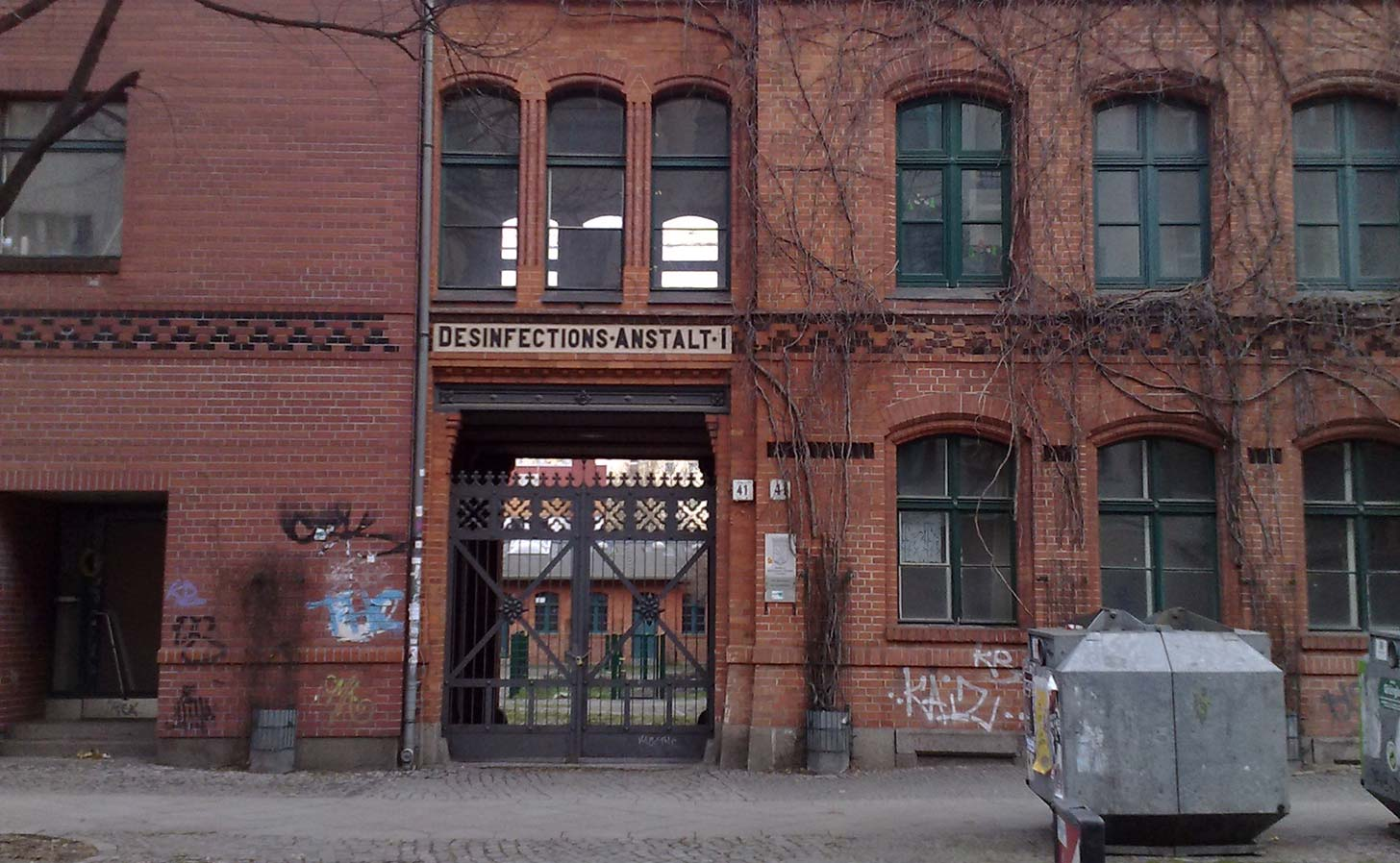 Transistor is located inside an old factory building in Kreuzberg. Photo: Berlinow