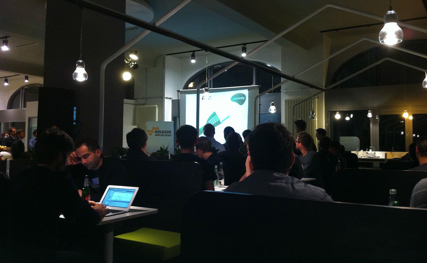 An event at Office Club Prenzlauer Berg, Berlin. Photo: Berlinow